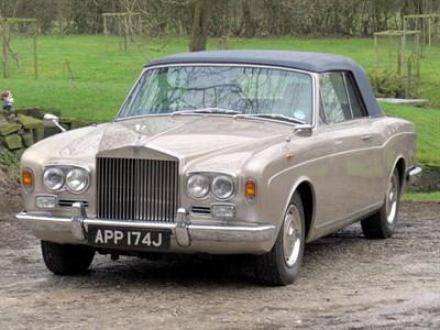 Lot 16-1970 Rolls-Royce Silver Shadow MPW Drophead