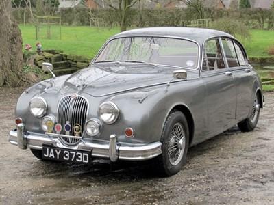 Lot 14-1966 Jaguar MK II 3.8 Litre
