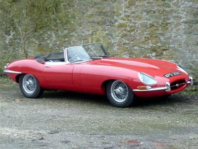 Lot 15-1965 Jaguar E-Type 4.2 Roadster