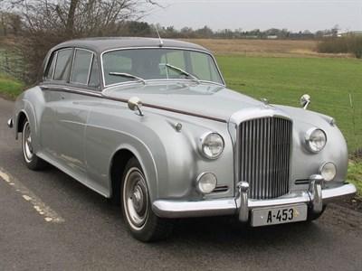 Lot 1 - 1956 Bentley S1 Saloon