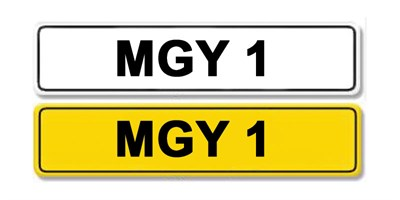 Lot 1 - Registration Number MGY 1