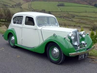 Lot 2-1946 Sunbeam-Talbot Ten Saloon