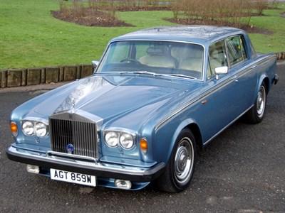 Lot 22-1981 Rolls-Royce Silver Shadow II