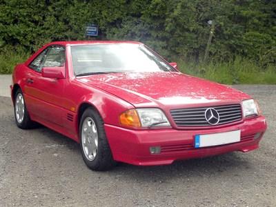 Lot 29-1994 Mercedes-Benz SL 320