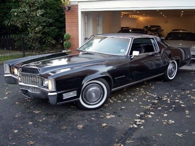 Lot 45-1968 Cadillac Eldorado Coupe