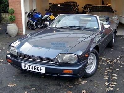 Lot 46-1991 Jaguar XJ-S 5.3 Convertible