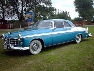 Lot 48-1955 Chrysler Windsor DeLuxe Newport Coupe