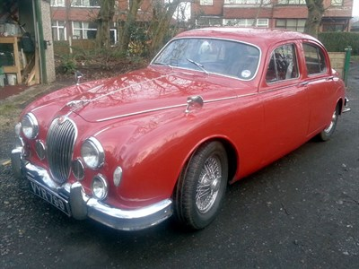 Lot 25 - 1958 Jaguar MK I