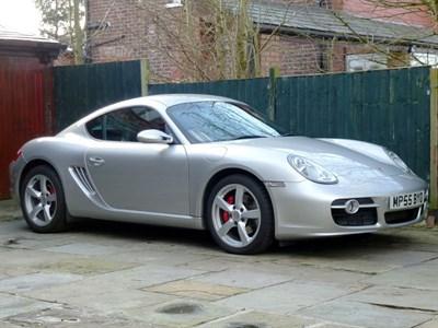 Lot 3-2006 Porsche Cayman S