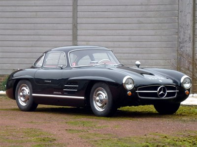 Lot 49 - 1955 Mercedes-Benz 300 SL Gullwing