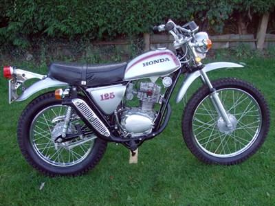Lot 5-1975 Honda SL125S