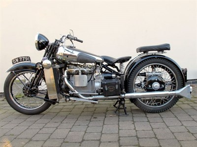 Lot 36-1932 Brough Superior BS4