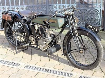 Lot 40-1922 Rudge Multi I.O.M. TT Replica