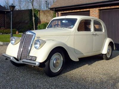 Lot 59-1937 Lancia Aprilia S1 Normale