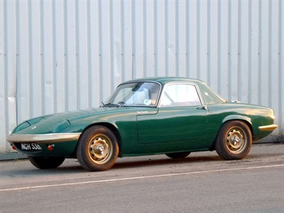 Lot 36 - 1966 Lotus Elan S3