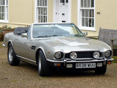 Lot 10 - 1984 Aston Martin V8 Volante