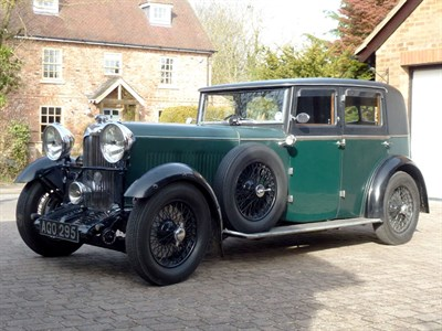 Lot 30 - 1933 Lagonda 16/80 Saloon