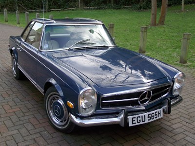 Lot 11 - 1969 Mercedes-Benz 280 SL