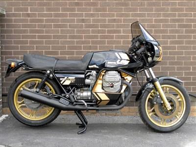 Lot 8-1981 Moto Guzzi 850 Le Mans II