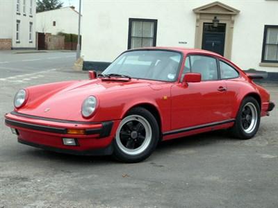 Lot 70-1987 Porsche 911 Carrera Sport