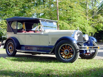 Lot 47 - 1925 Locomobile Junior 8 Tourer
