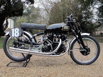 Lot 18-1948 Vincent Black Lightning