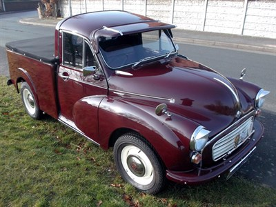 Lot 2 - 1971 Morris Minor Pickup