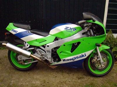 Lot 9-1989 Kawasaki ZXR750 H1