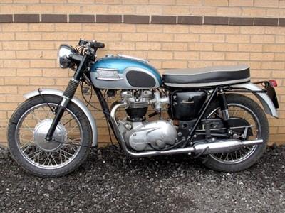 Lot 6-Triumph T120 Bonneville
