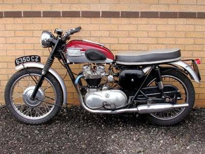 Lot 30-1961 Triumph TR6 Trophy