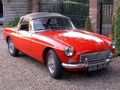 Lot 4-1967 MG B Roadster