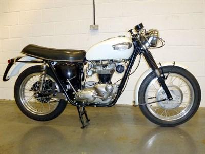 Lot 20-1966 Triumph T120 Bonneville