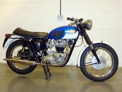 Lot 22-1965/6 Triumph TR6 Trophy
