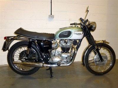 Lot 26-1967 Triumph TR6 Trophy