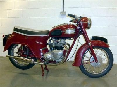 Lot 25-1959 Triumph 5TA Speed Twin
