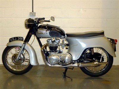 Lot 24-1961 Triumph 6T Thunderbird