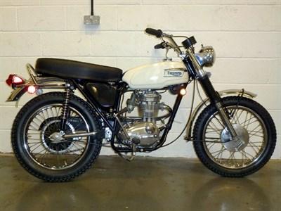 Lot 19-1969 Triumph TR25W Trophy