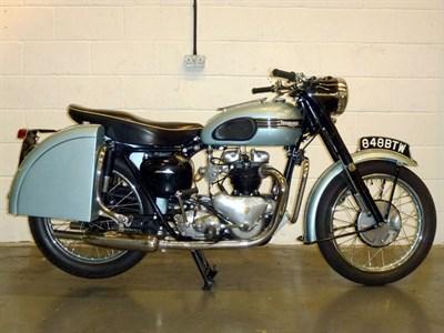 Lot 27-1955 Triumph T110 Tiger