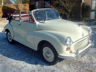 Lot 48 - 1961 Morris Minor Convertible
