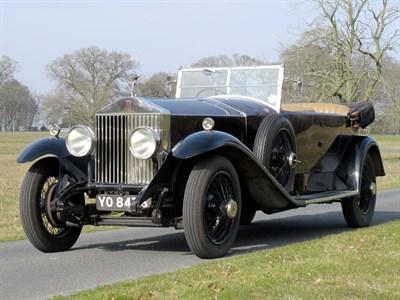 Lot 14 - 1926 Rolls-Royce Phantom I Tourer