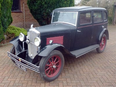 Lot 69 - 1931 Rover 10/25 Weymann Saloon