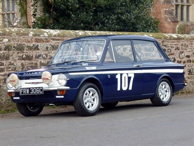 Lot 40 - 1965 Hillman Imp Works Rally Car