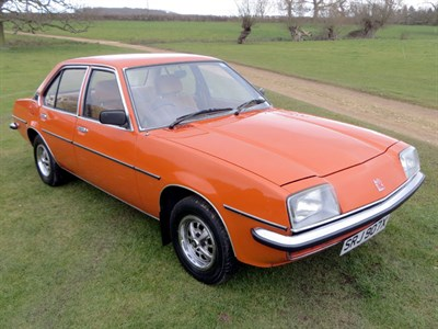 Lot 43-1981 Vauxhall Cavalier