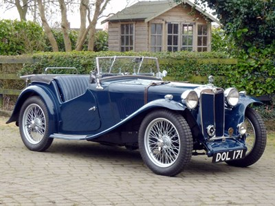 Lot 64-1937 MG TA