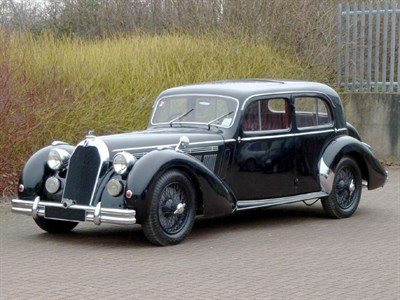 Lot 56 - 1947 Talbot-Lago T26 Record Berline