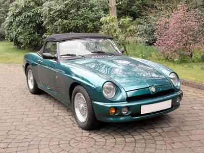 Lot 51-1993 MG R V8