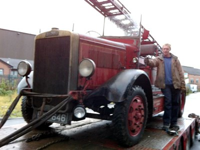 Lot 60 - 1938 Leyland Cub FK6 Fire Engine