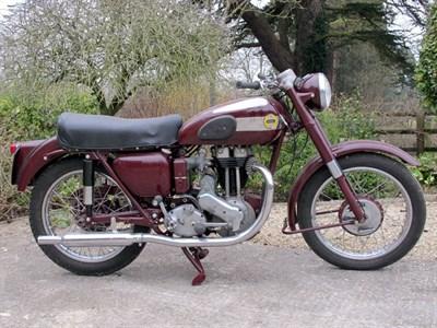 Lot 52-1956 Ariel Red Hunter NH