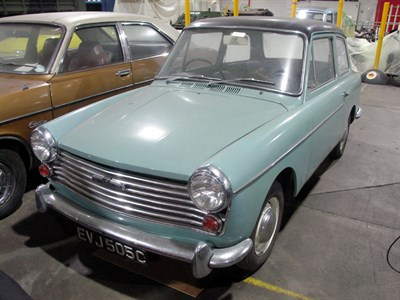 Lot 1 - 1965 Austin A40 Saloon