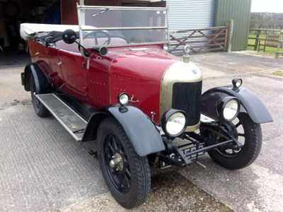 Lot 16 - 1926 Morris Oxford 'Bullnose' Tourer